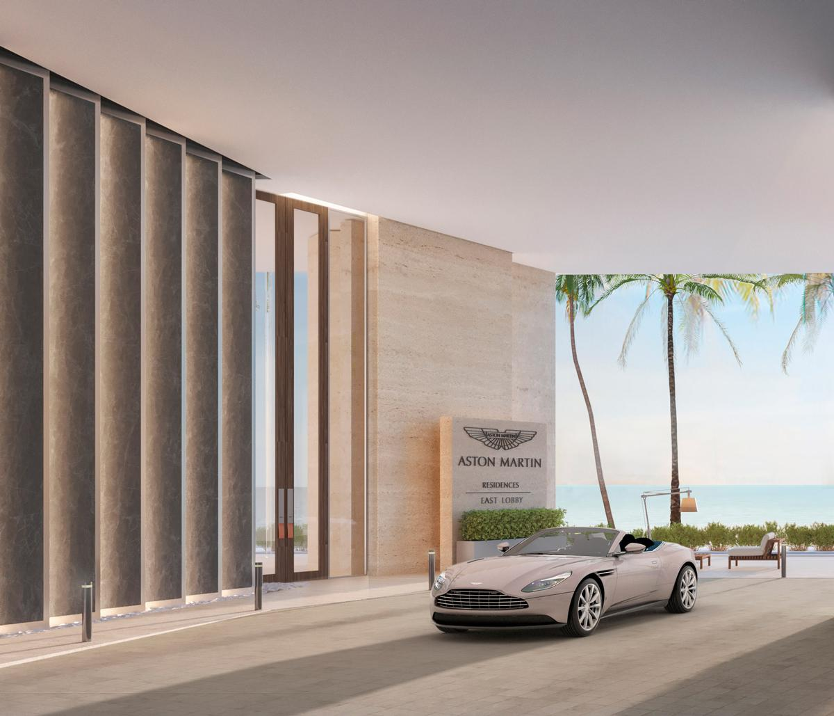 Residents will have access to concierge services / Aston Martin