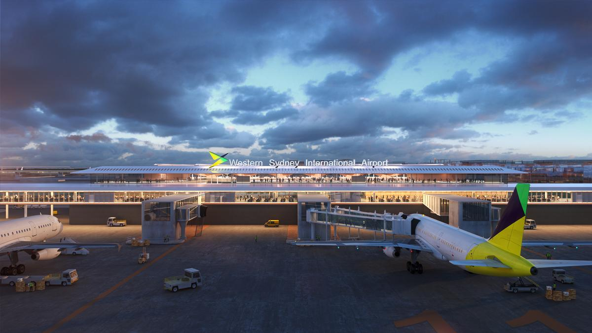 Western Sydney Airport is planned to be the largest international gateway to Australia by 2060 / Zaha Hadid Architects / Cox Architecture
