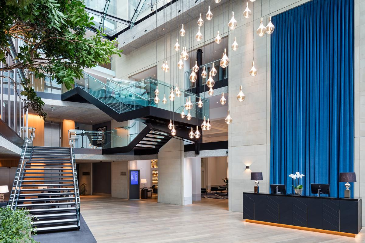 The Grade II-listed building was renovated at a cost of £12m (US$16m, €14m) / Radisson
