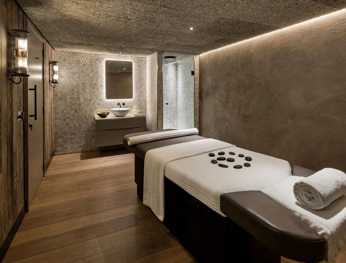 The spa has a sauna, a steam room, treatment rooms and a relaxation room / Radisson