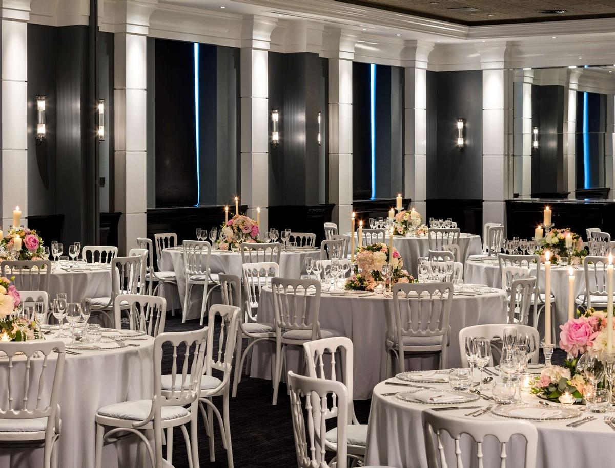 An events space that can accommodate up to 550 guests can be used used for a variety of functions / Radisson