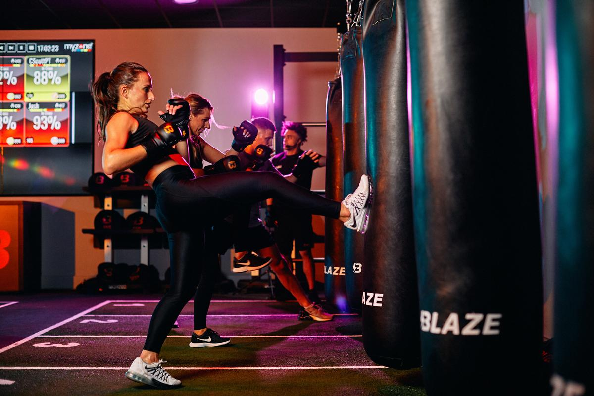 The first stand-alone Blaze boutique studio will open in central Birmingham in early January 2020 / David Lloyd Clubs