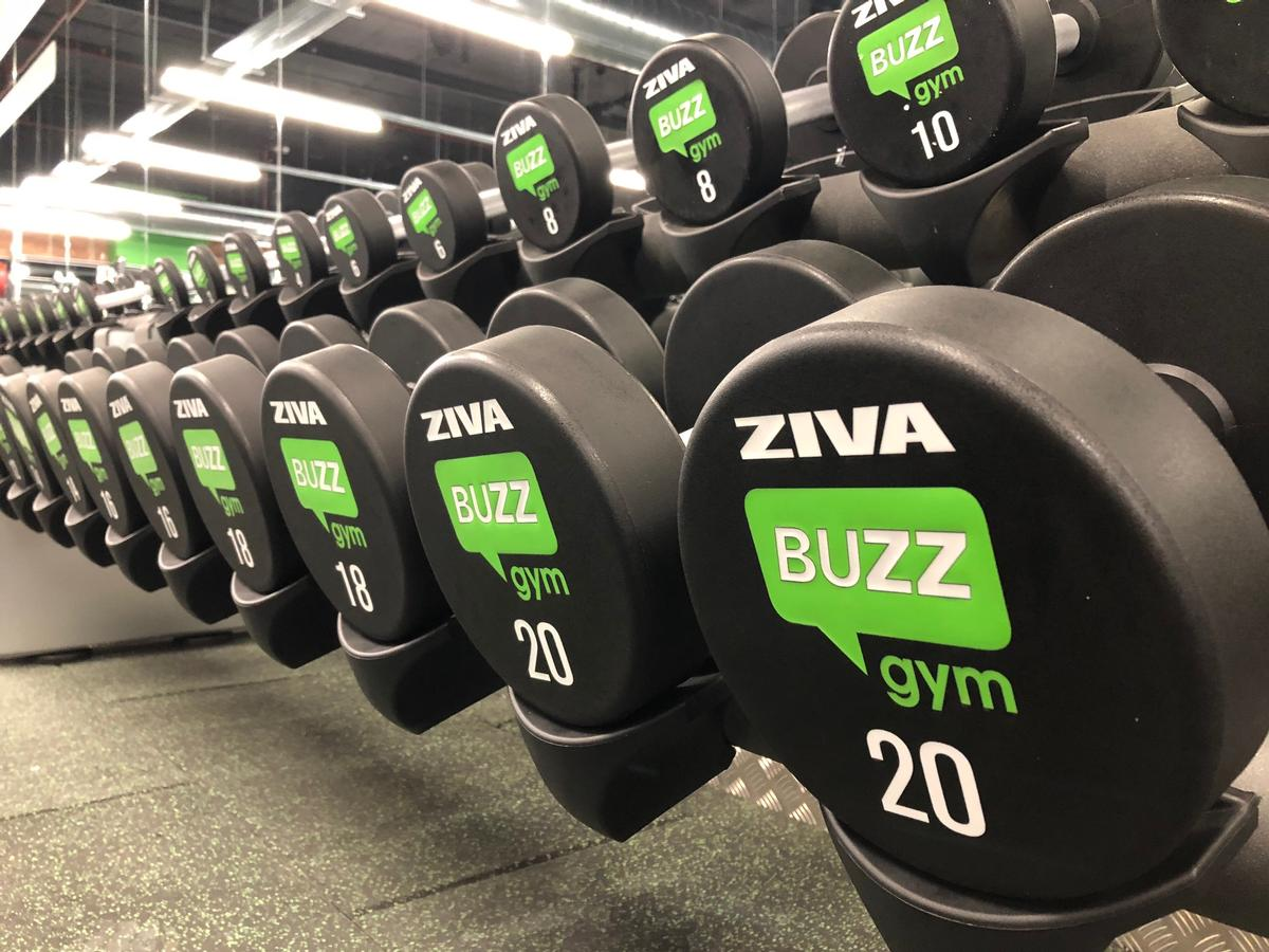Weights can be branded to enhance club design / Dyaco