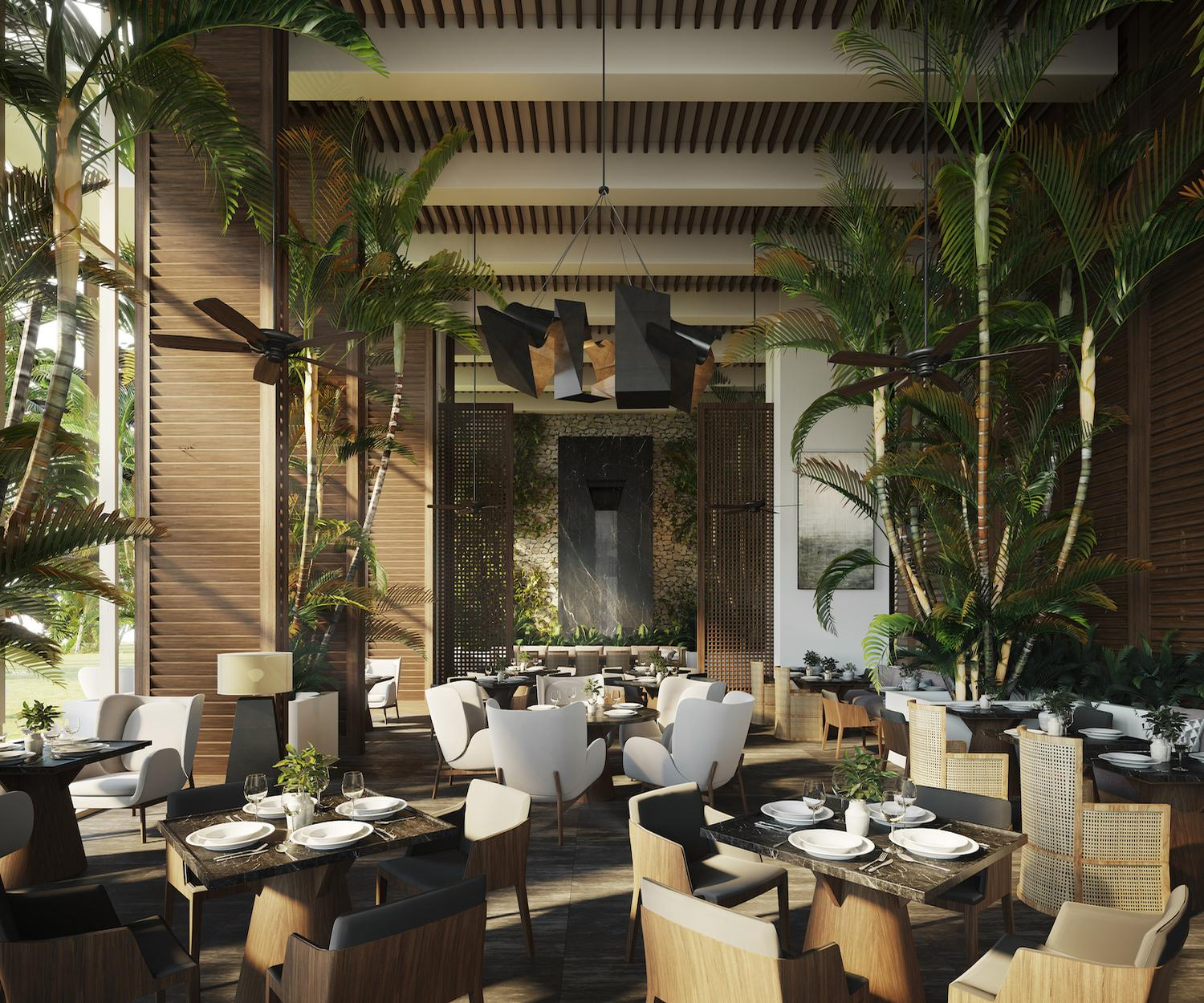The property will include 100 suites and private residences with views of the Pacific Ocean, as well as a focus on healthy nutrition