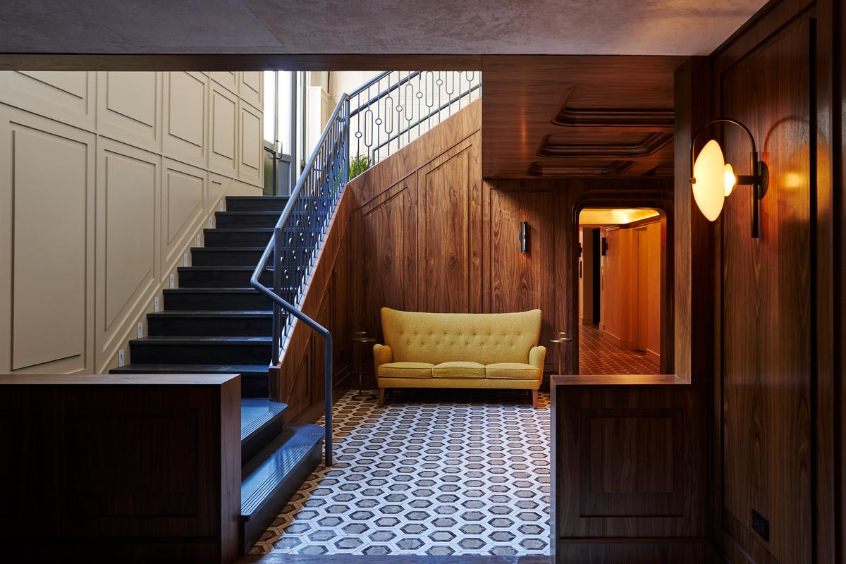 Rosewood fixtures adorn some of the communal spaces / Adrian Gaut