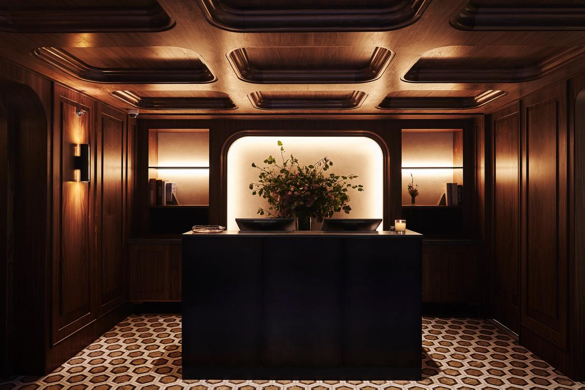 Guest can check-in in a large entrance lobby or at a second, more social lobby above / Adrian Gaut
