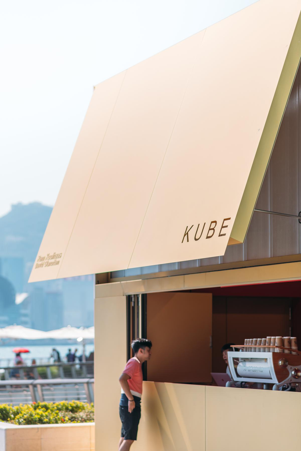 A section can open up as an awning / Kevin Mak