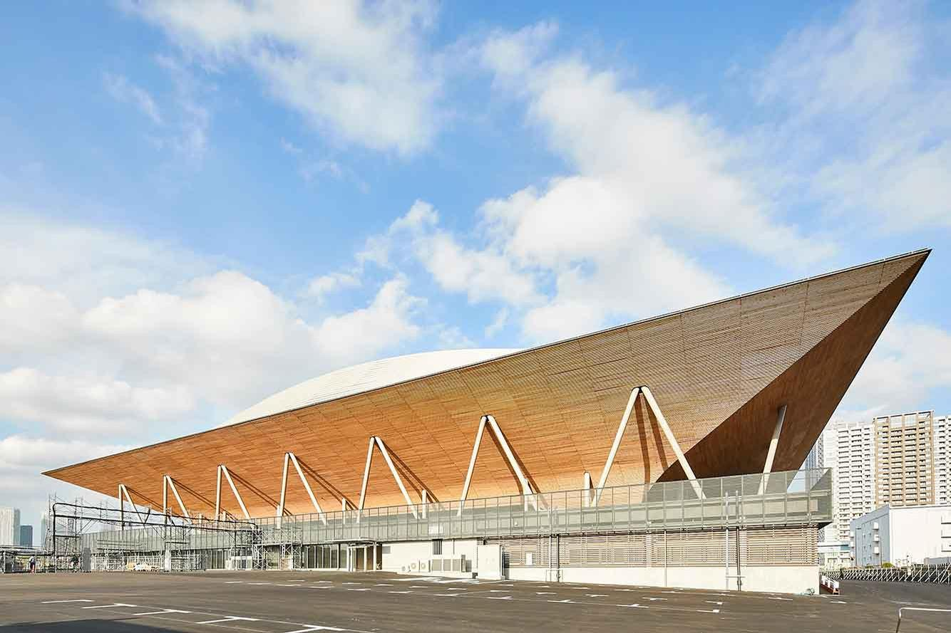 The 12,000-capacity arena will host artistic, rhythmic and trampoline gymnastics events during the Games / Tokyo 2020