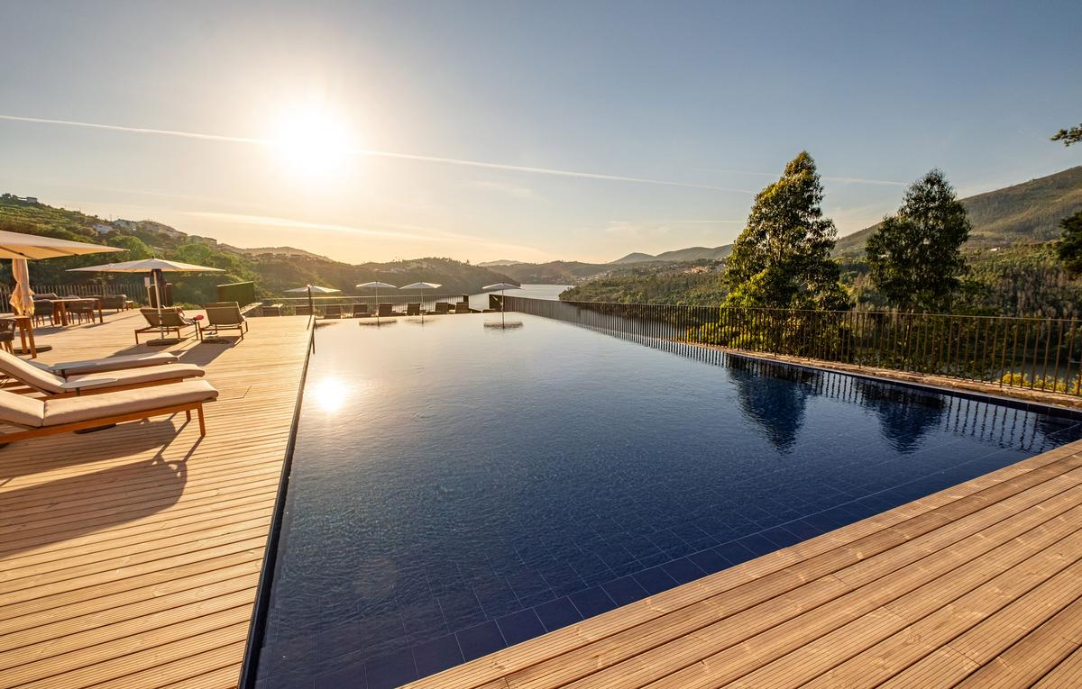 Douro41 is a 56-bedroom and five suite eco-hotel owned and operated by the Portuguese hotel group, Discovery Hotel Management.