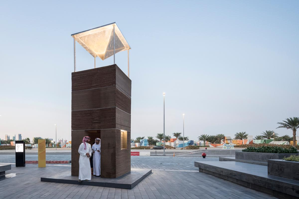 Barjeel was inspired by the wind towers that have been used to cool buildings in the Gulf region for centuries