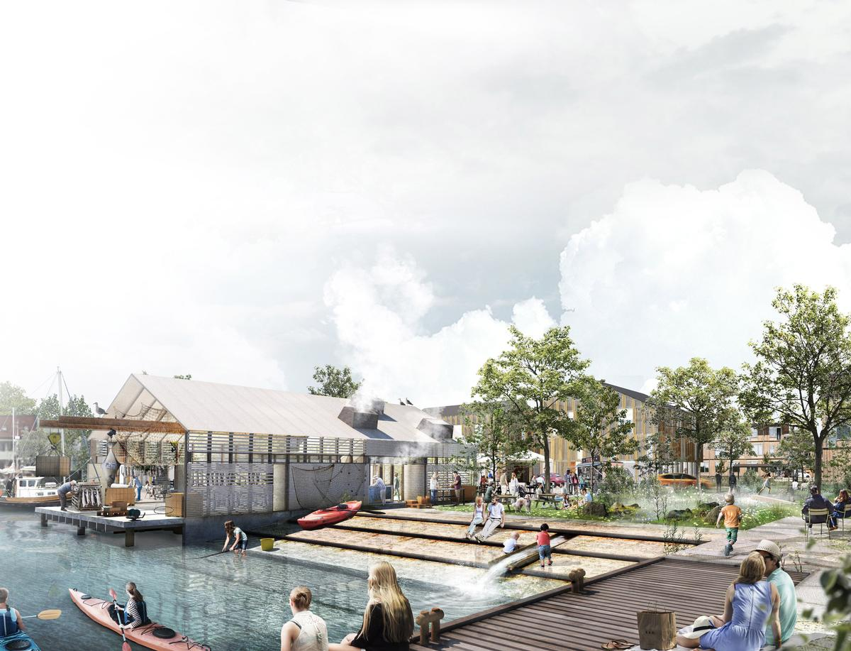 Additional water recreation facilities will be created as part of the project, as will a harbour bathing pool with a sauna and changing facilities / BOGL