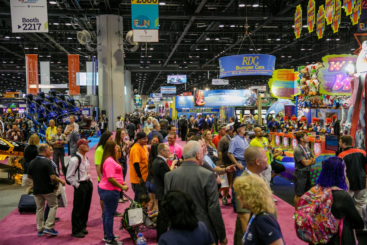 IAAPA is the premier industry event for the visitor attractions sector / IAAPA