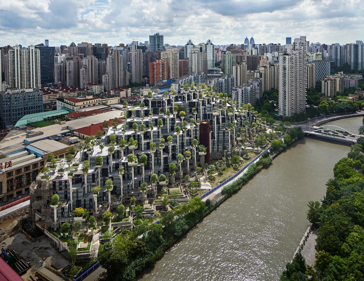 The development covers 300,000sq m (3,230,000sq ft) in total / Qingyan Zhu