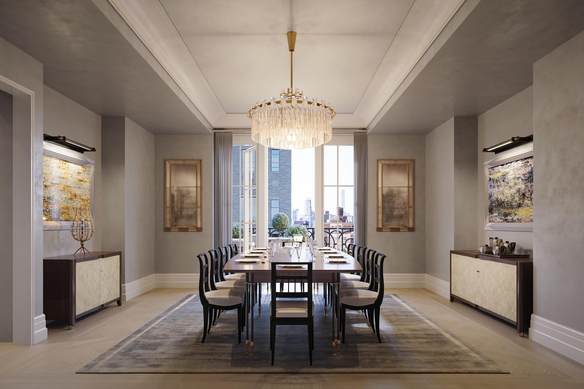 Beckford House has a dining room for residents to use / Noe & Associates / The Boundary