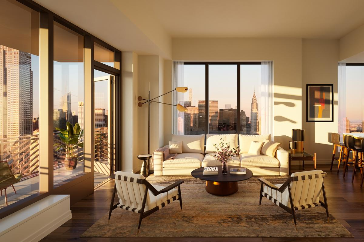 Residences will be priced from $1.2m (€1.1m, £900,000) / Rockefeller Group