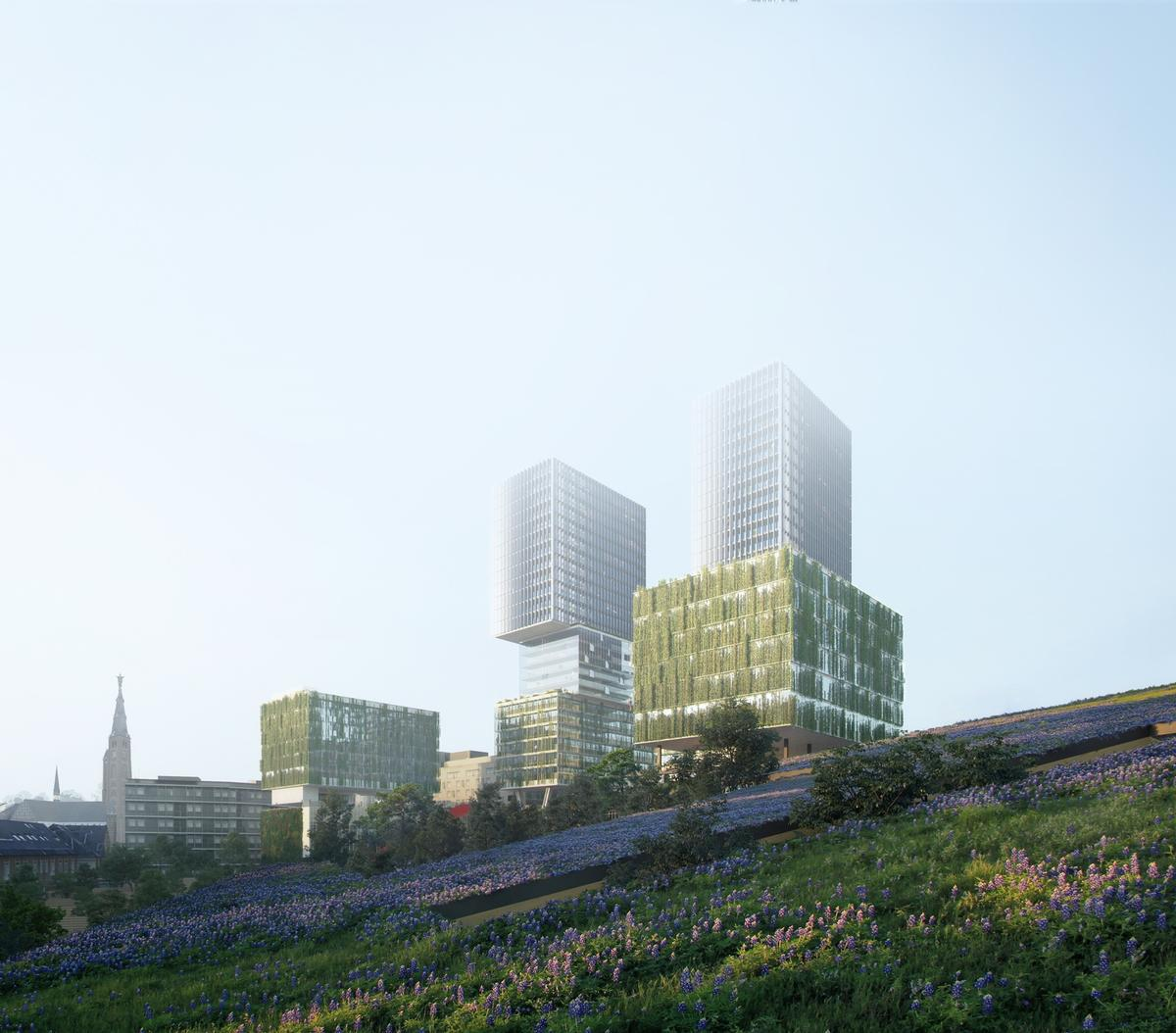 Residential and commercial elements will form part of the redevelopment / Proloog