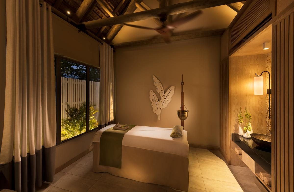 The destination includes a 368sq m spa.