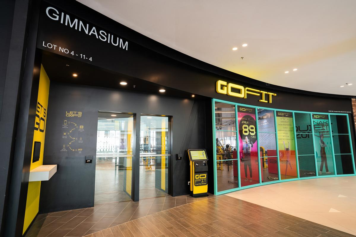 The first GoFit club opened its doors at Central i-City Mall in Shah Alam, Malaysia / GoFit/Evolution Wellness