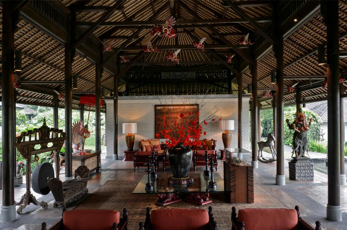 Hadiprana built the resort – set among the ricefields of Ubud – in the 1980s.