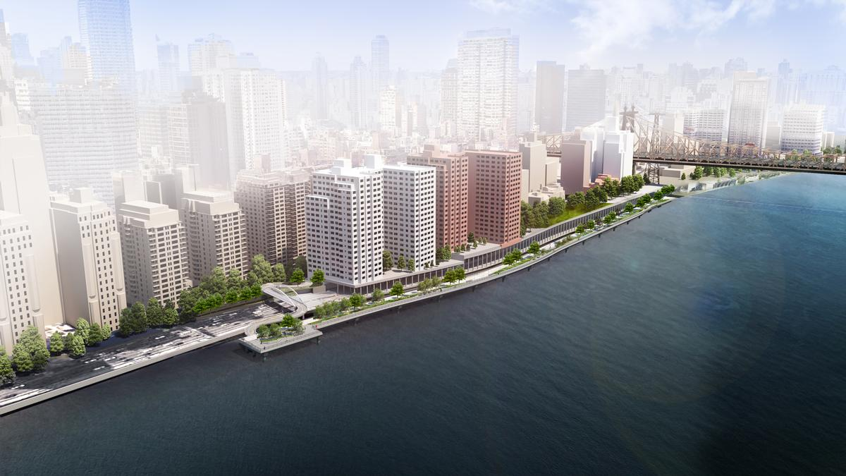 The East Midtown Greenway is due for completion in 2022 / Courtesy of Stantec