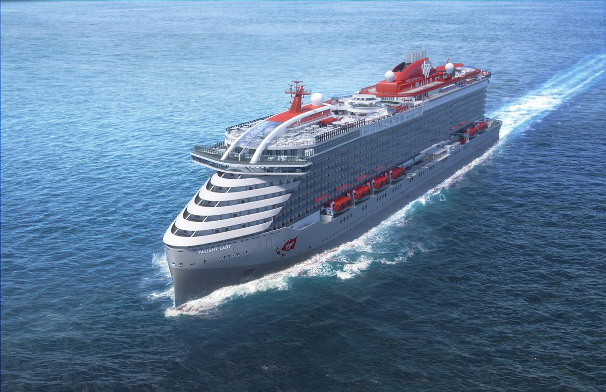 Virgin Voyages ships are designed by a collective including Design Research Studio (Tom Dixon), Roman & Williams and Concrete Amsterdam / Virgin Voyages