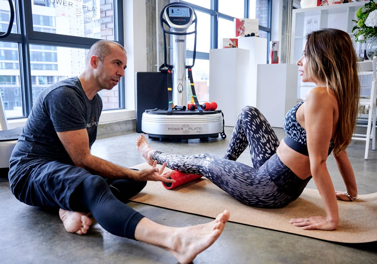 Power Plate's has launched its three-piece collection of vibration training products at an exclusive event in London