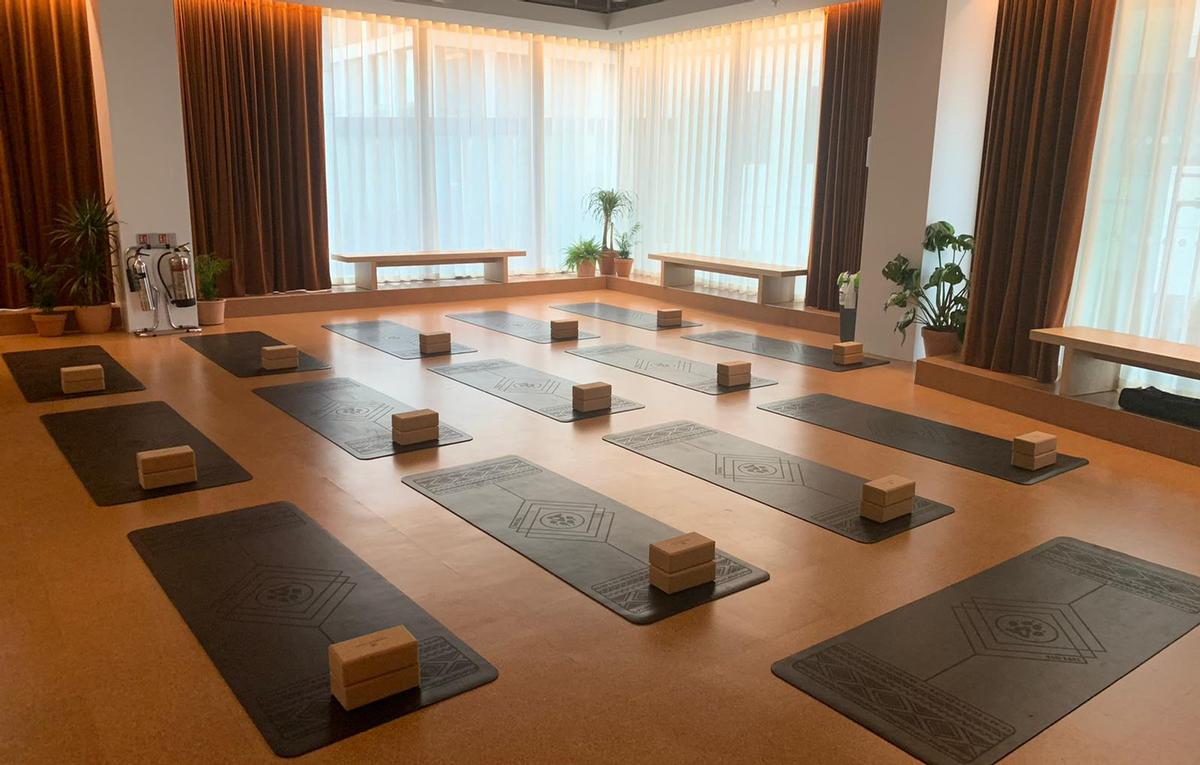 The classes will take place in a bespoke wellness space / WeWork/Reset LDN