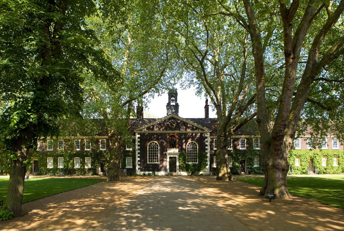 The museum is situated at listed 18th century almshouses buildings in east London / Jayne Lloyd