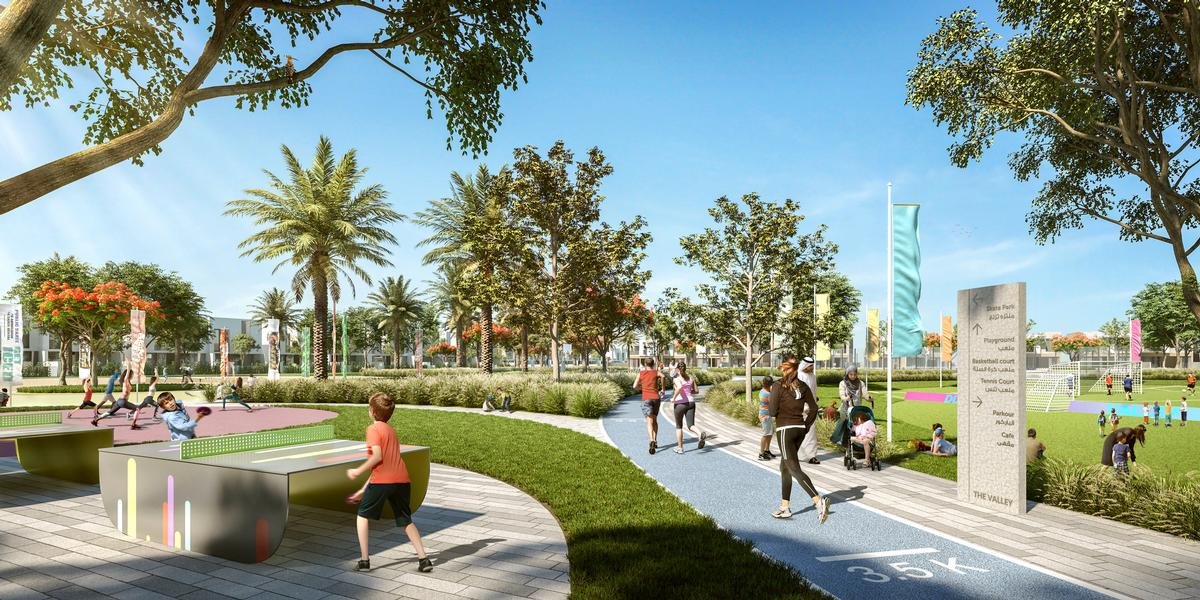 The will be a number of public parks / Emaar