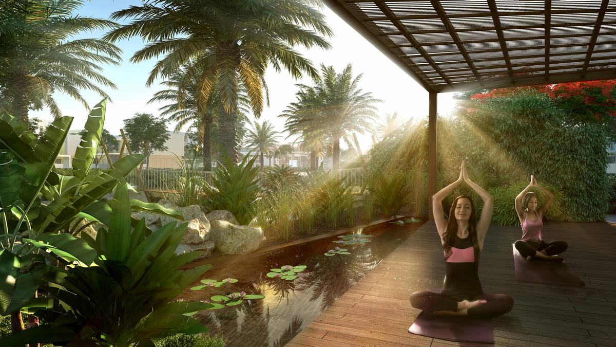 The development will offer a variety of health and wellbeing amenities / Emaar