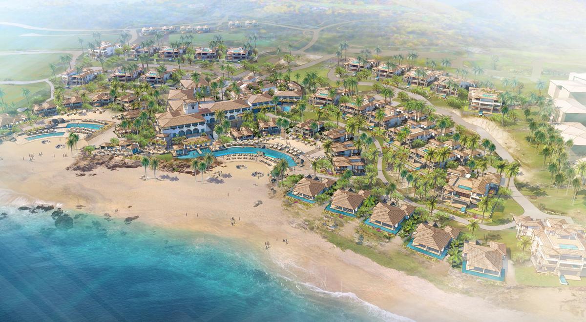 The resort will feature a mountain adventure park, La Montaña.