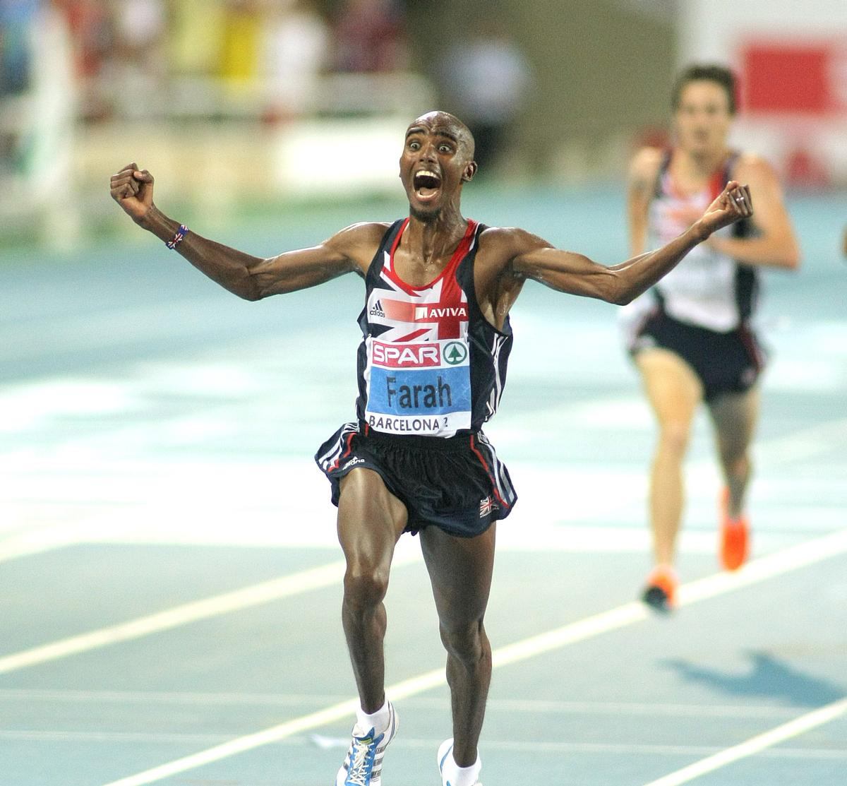 The highest-profile British athlete to train at the NOP was Mo Farah / Shutterstock