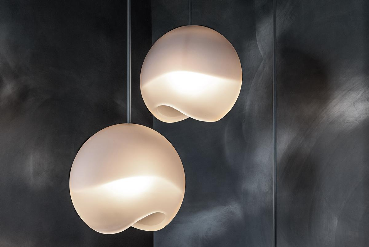 The Eclipse Pendant light was inspired by the lunar eclipse