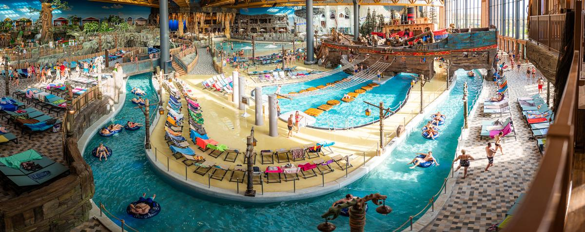 Rulantica is a Nordic-inspired water park with nine themed settings / Europa-Park
