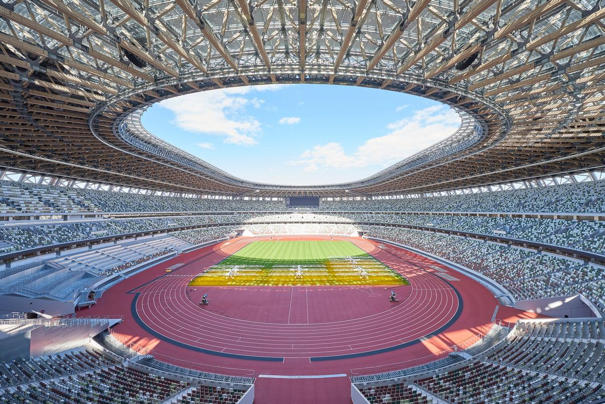 The stadium has a capacity of around 60,000