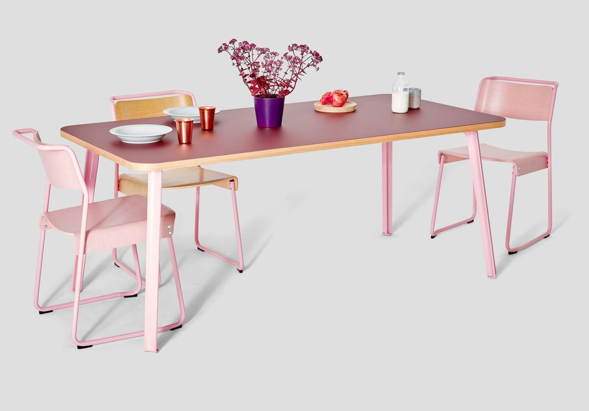 The Canteen collection was inspired by post-war British design techniques