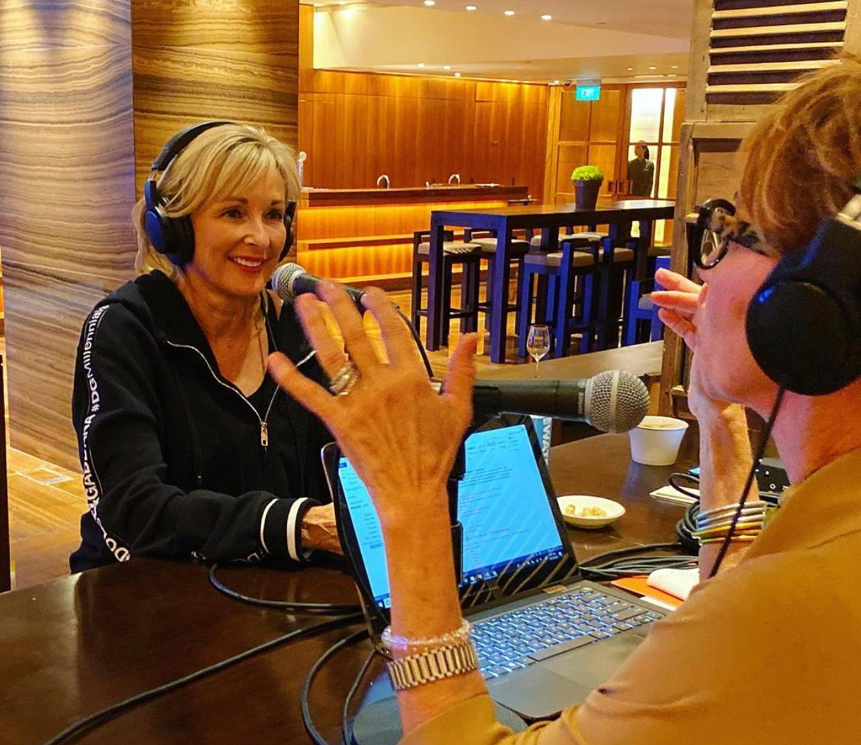 Susie Ellis, GWS chair and CEO, kicked off the series as the first episode's interviewee.