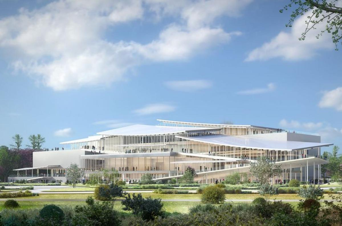 Construction work on the New National Gallery in Budapest's City Park were due to begin in 2020 / ©Liget Budapest 2019