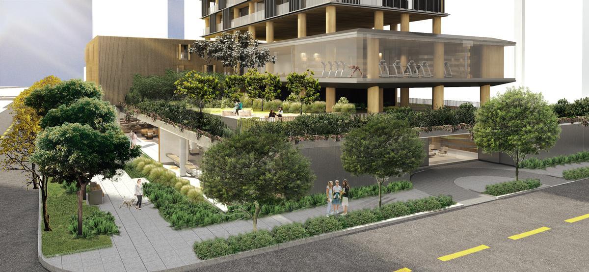 Praça Henrique Monteiro will cover an area of 3,000sq m (32,300sq ft) / Studio Arthur Casas