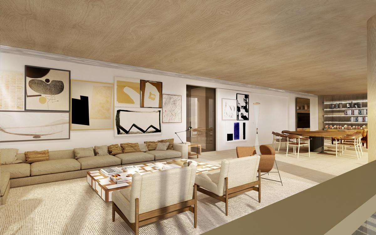 Casas minimised the use of corridors to help maximise apartment areas / Studio Arthur Casas