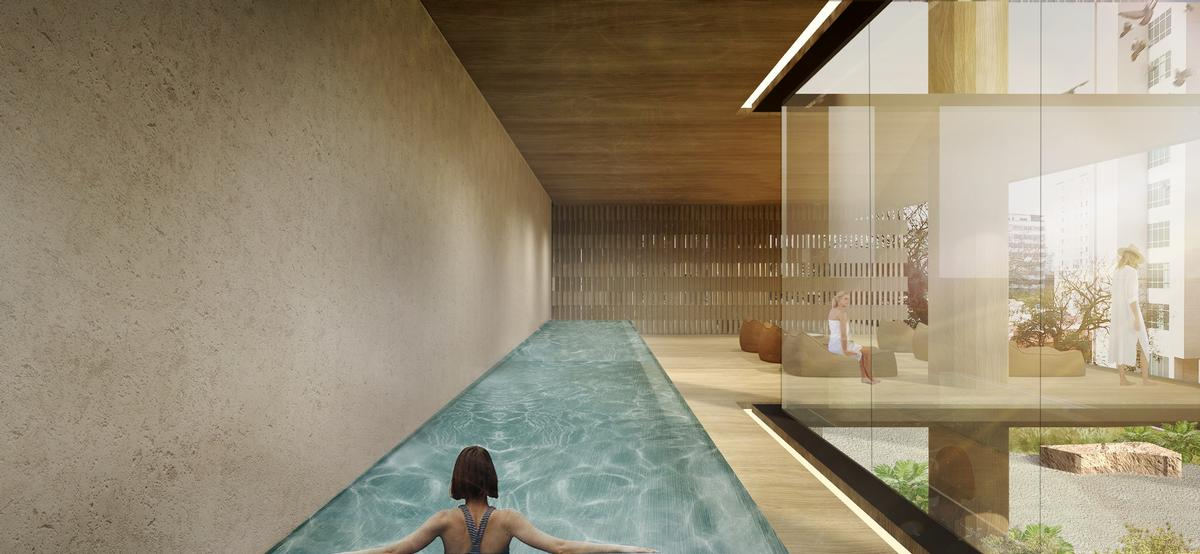 Residents will have access to a fitness centre in the tower / Studio Arthur Casas