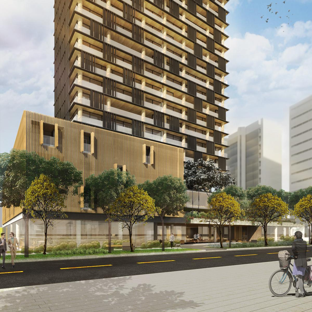 The complex will be located in Sao Paulo, Brazil / Studio Arthur Casas