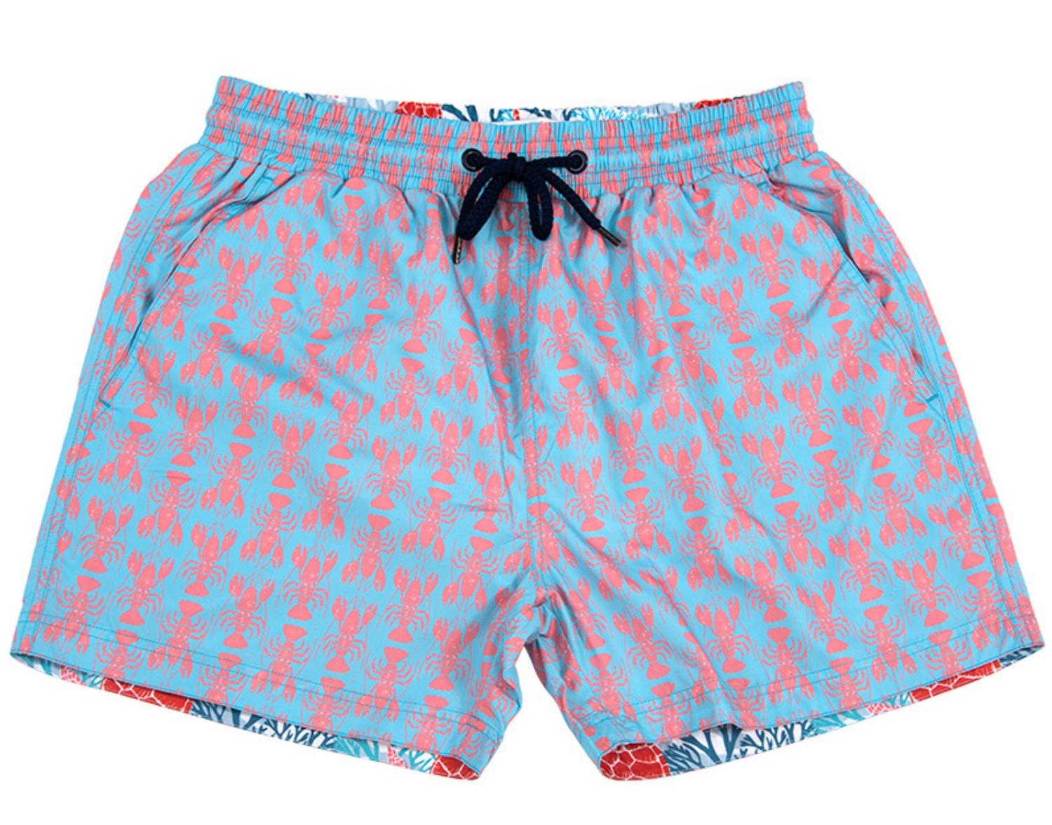 The Rocks Push makes men's swim shorts from abandoned fishing nets reclaimed from the ocean