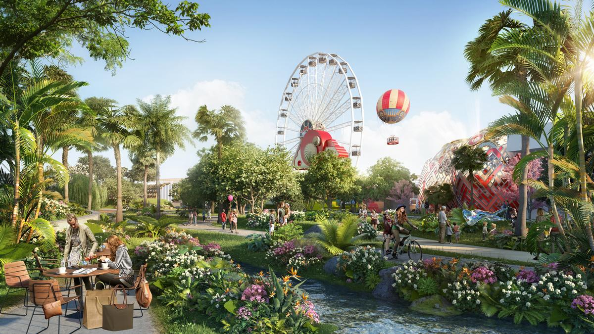 The Wonderland neighbourhood will be a themed world for children / Intu