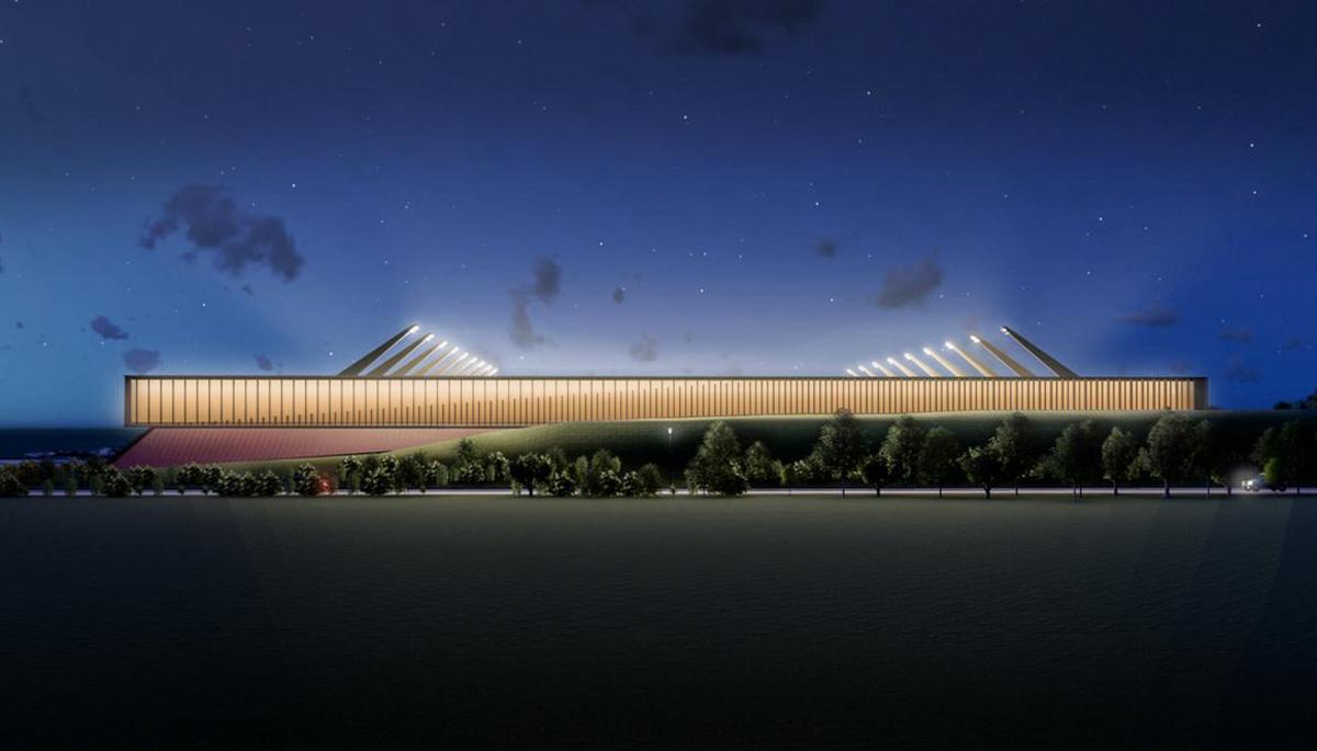 Architects KSS have come up with a sustainable design for a sustainable location / Cambridge United FC / KSS