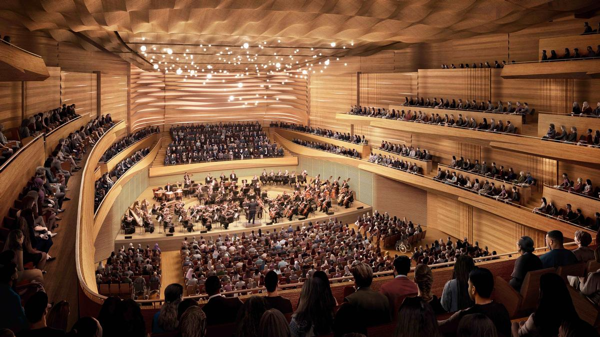 Diamond Schmitt and TWBTA reveal new Geffen Hall revamp plans
