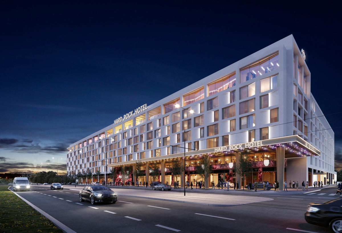 Hard Rock International will be the operator, tenant and manager of the property.