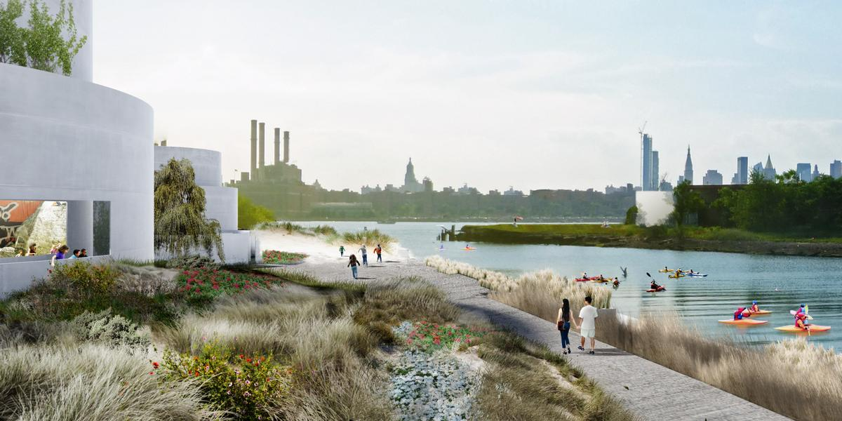 The Tanks at Bushwick Inlet Park by STUDIO V Architecture / Studio V Architecture and Ken Smith Workshop