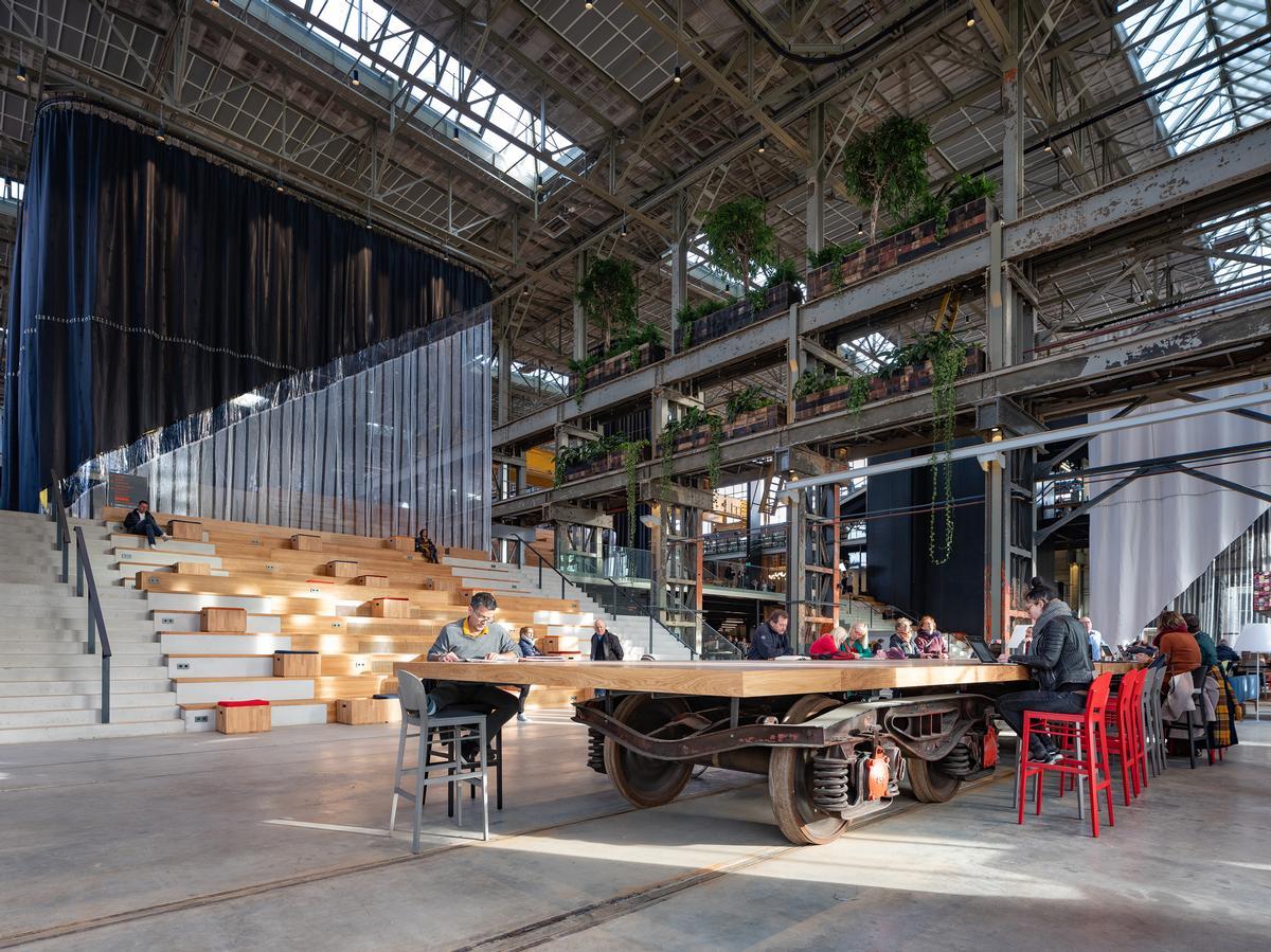 LocHal by Mecanoo architecten / Ossip Architectuurfotografie