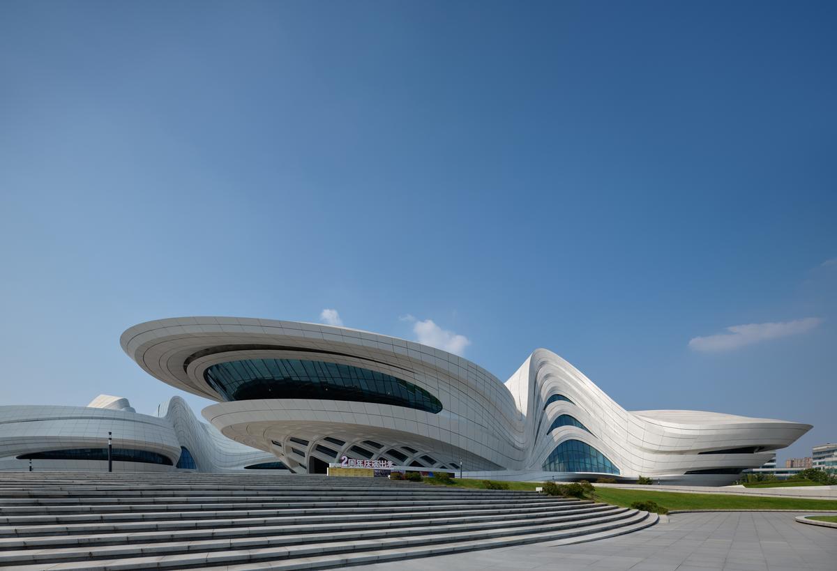 It comprises three separate but complementary venues / Virgile Simon Bertrand